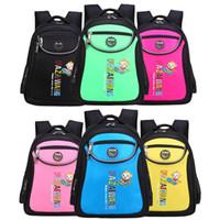 Wholesale Children s backpacks Boys Girls Kids Backpack Schoolbag school bags Satchel cartoon book bags High Density Nylon waterproof Breathability