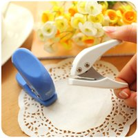 Wholesale 12 Mini paper punch mm hole punches for scrapbooking Stationery office accessories School supplies