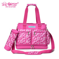 Wholesale Large Capacity Baby Diaper Bags Baby Nappy Bag Travel Mummy Maternity Bags Ladies Handbag Messenger Bags Tote