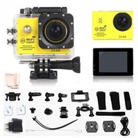 Wholesale EU Action Camera SJ7000 Wifi LTPS LED Mini Cam Recorder Marine Diving P HD DV Go pro style