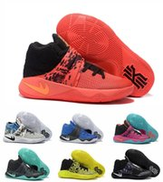 Wholesale Many Colors Kyrie Irving Men Basketball Shoes New Fashion Women Kyrie s BHM Kyrieirving Bright Crimson Tie Dye Sport Shoes Sneakers
