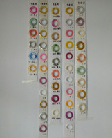 Wholesale 20pcs New Low Noise Curtain Rod Ring Eyelet Ring For Drapery Inner dia mm many Colors
