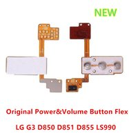 Cheap For LG G3 D850 D855 LS990 Power Button+Volume Key Flex Ribbon Cable Replacement Parts free shipping