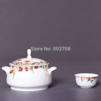 Wholesale Jingdezhen bone china tableware ceramics tableware upscale flower tableware