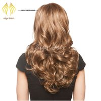 Wholesale New Style Beautiful Lady s Hair Wigs Factory Direct Sales Straight to Loose Wave Women Hair Wig Synthetic Human Hair For Cosplay
