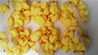 Wholesale 100pcs Bath Duck Sound Floating Rubber Ducks Toy Rubber Duck Classic Toys