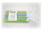 Wholesale 100Pcs bag High quality green plastic Disposable saliva ejectors Dental material Dental Supplies