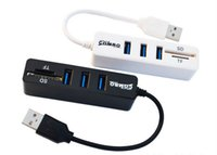 Wholesale Portable Port USB Hub Support TF SD Card