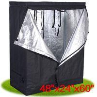 Wholesale 48 quot x24 quot x60 quot Indoor Grow Tent Room Reflective Hydroponic Non Toxic Hut
