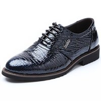 alligators shoes - Real Genuine Leather Alligator Pattern Men Dress Shoes For Party Wedding Casual Walking Business Formal Men s Oxford Flats