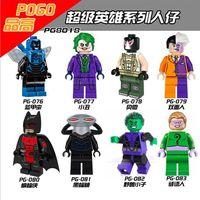 beast boy figure - 480pcs DC Super Hero Villains Black Manta Beast Boy The Riddler Minifigure Toys mini figure