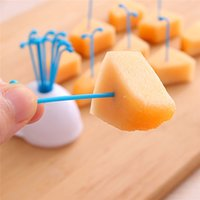 Wholesale LS4G Fruit Vegetable Tools Creative White Whale Design Jar Spray Fruit Pick Kitchen Tool
