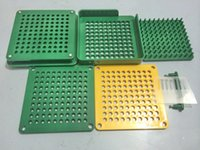 Wholesale empty shell used holes ABS material manual fillers hand operate filling machine capsulator with tamping tool