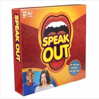 Wholesale Speak Out Game Best Selling Board Game Interesting Party Game