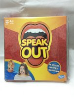 Wholesale Speak Out Game KTV Party Game Table Game Cards for Party Christmas Gift Newest Best Selling toy