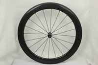 Wholesale T700 wheels bike tubular Road Bicycle parts wheels Matte Glossy C Carbon Fiber Road Bike wheels