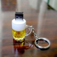 Wholesale U g special offer beer beer glass disc GB U lovely creative personality