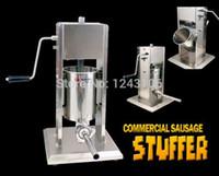 Wholesale SF Vertical Type Manual Sausage Stuffer stainless steel sausage stuffer meat filler sausage making machine Sausage filler