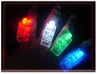 african lamp - Hot Seller LED Finger Lamp LED Finger Ring Lights Glow Laser Finger Beams LED Flashing Ring Party Flash Kid Toys Colors