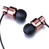 Wholesale Noise isolating MYKIMO MK200 Earphones High Quality Stereo Bass Headset In Ear Metal Headphones