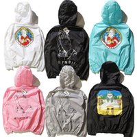 animal pyramid - Ripn dip Pray Lord Nermal The Pyramid Sun Jackets Men Women Fashion Summer Sunproof Jackets Brand Clothing Y E E Z Y PALACE Coats