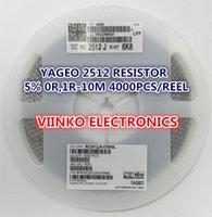 Wholesale full reel R OHMS W SMD Chip Resistor reel YAGEO New Original Chip Fixed Resistor