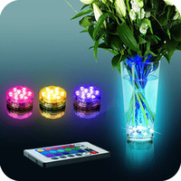 best underwater lights - Hot Selling Multi Color Submersible LED Light Party Lamp Underwater W Remote Control Best Quality