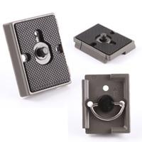 achat en gros de libération rapide manfrotto-Caméra Plate Trépied Rapide pour Manfrotto QR 200PL-14 323 RC2 Compatible