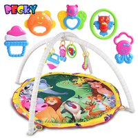becky baby - Becky New Animal Paradise Baby Crawling Mat Baby Toys Baby Gym Play Mat Carpet Child Game Pad Mats for Children
