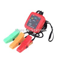 Wholesale UNI T UT262A Non Contact Phase Sequence Rotation Detectors Tester Indicator Detector Meter LED Display Buzzer
