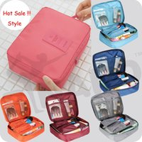 Wholesale Cosmetic Bags Cases bra underwear pocket Travel mate bag Organizer Portable Outdoor Hanging Wash Storage Pouch Sorting Makeup Bags L189