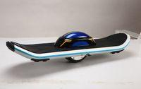 Wholesale HOT Electric One Wheel Drifting Board Q2 Black or White LED Light Skateboarding KM H Electric Skateboard