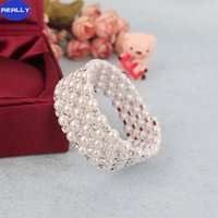 Wholesale REALLY New Cheap Fashion In Stock Row Row Rhinestone Crystal White Pearls Wedding Bracelets For Party Bridal Jewelry