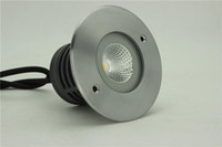 Wholesale COB w LED Inground light IP67 VDC square cover led outdoor light Warm white alumiuium housing stainless steel cover