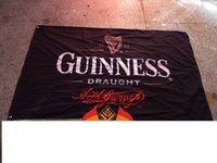 beer banners - guinness draught beer flag Bar promotions banner flagking custom polyester flag