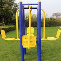 Wholesale Park Plaza residential outdoor fitness equipment outdoor fitness path elderly in community Double sit sitting kicking kicking four