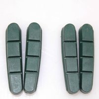 Wholesale Carbon Fiber Wheel Rim Brake Pads Front and Rear ONLY USD Dark Green Color