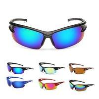 Moda brilhante Mens Sunglasses Desporto Sun óculos de meia Sunglasses Quadro de alta qualidade homens óculos grosso Óculos de sol na China