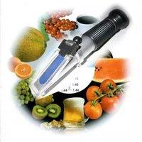 Wholesale Hand held brix Honey Refractometer brix