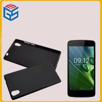 acer gel - Protective Matte Pudding Soft TPU Gel Skin Fit Case For Acer Liquid Zest Z525 G Z528 G G