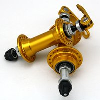 Wholesale High Quality Forged Aluminum Alloy Mountain Road MTB Bike Gold Hubs Holes Bicycle With Bearing