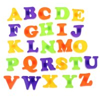 Wholesale Popular Fashion Fridge Magnet Baby Child Toy A Z Educational Alphabet Letters magformers toys brinquedos kids toys