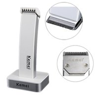 beard trimming razor - 2 colors style kemei KM rechargeable hair clipper electric shaving hine razor barber cutting beard trimmer Haircut Set Cordless