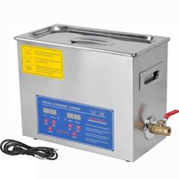 Wholesale New Stainless Steel PS A V V L Industry Heated Ultrasonic Cleaner Heater Timer Cleaner Cleaning Equipment Machine