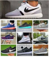 Wholesale 2016 Cheap Roshe Run Shoes Fashion Men Women Roshe Running London Olympic Walking Sporting Shoes Sneakers Size UER