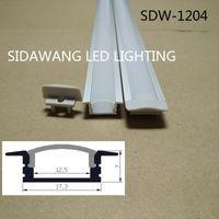 aluminum industrial extrusion - 10M set led aluminium profile for led bar light led strip aluminum channel waterproof aluminum extrusion led housing SDW