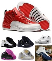 retro basketball shoes - Retro Basketball Shoes Sneakers Men Women Taxi Playoffs Gamma Blue Grey Sports Retro Shoes J12s XII Replicas