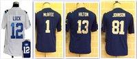 andre johnson jerseys - Youth Kids Jerseys Pat McAfee Andrew Luck TY Hilton Andre Johnson boys Chrildren Embroidery jersey