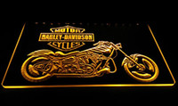 Wholesale LS609 y Motor Cycles Neon Light Sign