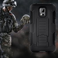 Wholesale For Samsung Galaxy S7 Edge in Rugged Case Belt Clip Holster Stand Shockproof Future Armor Case S3 S4 S5 S6 Edge S7 Edge Case